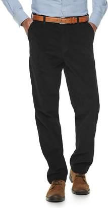 Croft & Barrow Men's Classic-Fit Easy-Care Stretch Flat Front Corduroy Pants