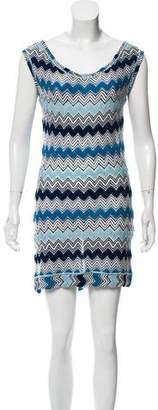 Missoni Mare Knit Sleeveless Dress