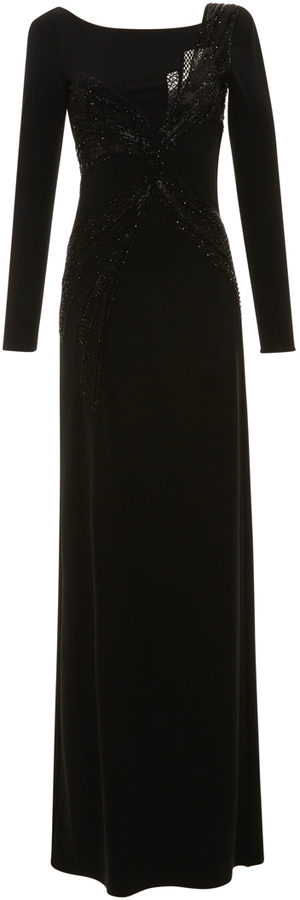 Emilio Pucci Emilio Pucci Long Sleeve Embroidered Dress