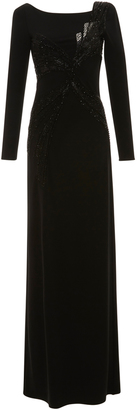 Emilio Pucci Long Sleeve Embroidered Dress $4,600 thestylecure.com