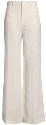 Joseph Ferguson Linen-Twill Wide-Leg Pants