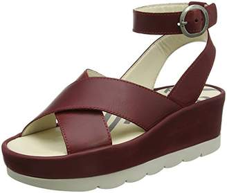 Fly London Women's Bite850Fly Ankle Strap Sandals,38 EU