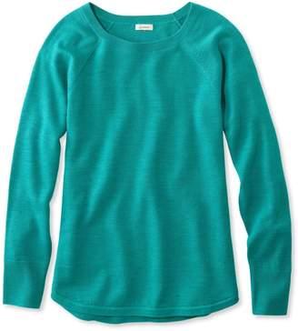 L.L. Bean L.L.Bean Washable Merino-Wool Sweater, Pullover