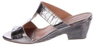 Rachel Comey Metallic Slide Sandals