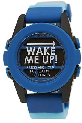Nixon Men's A1972212-00 Unit Digital Display Japanese Automatic Blue Watch