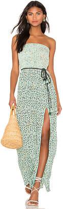 Poupette St Barth Mara Strapless Dress