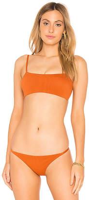 Peony Swimwear Crop Bikini Top