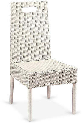 One Kings Lane Loft Side Chair - Antiqued White