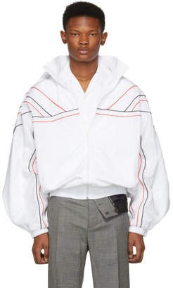 Y/Project White Clipped Shoulders Jacket