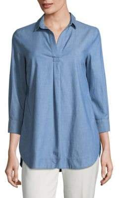 Piazza Sempione Chambray Denim Tunic