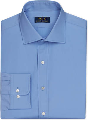 Polo Ralph Lauren English Poplin Solid Dress Shirt