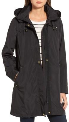 Women's Via Spiga Hooded Packable Utility Coat $180 thestylecure.com