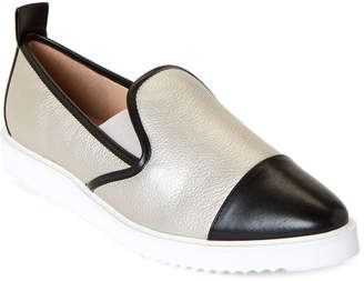 Karl Lagerfeld Paris Ice Cler Pointed Toe Slip-On Sneakers