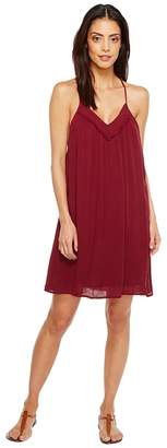 Brigitte Bailey Ila Spaghetti Strap Dress with Crochet Detail Women's Dress