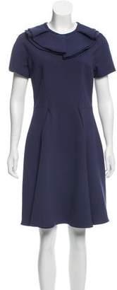 Emporio Armani Short Sleeve Knee-Length Dress