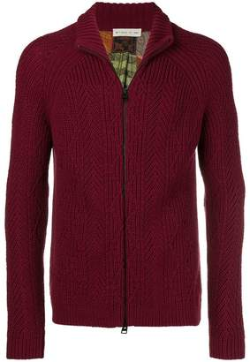 Etro high-neck cardigan