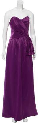 Lela Rose Strapless Evening Gown w/ Tags Purple Strapless Evening Gown w/ Tags