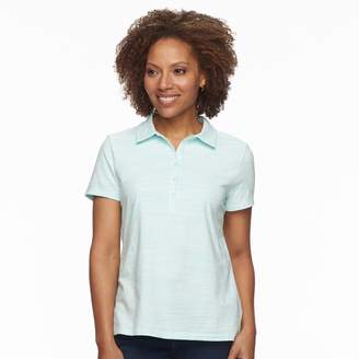 Croft & Barrow Petite Essential Short Sleeve Polo