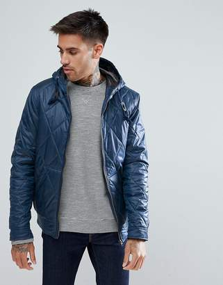 Ringspun Quilted Hooded Jacket