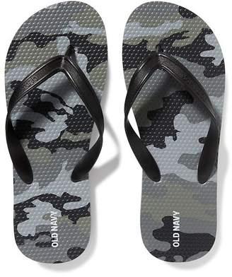 Old Navy Classic Camo-Print Flip-Flops for Boys