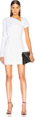 Dion Lee Double Twist Asymmetric Mini Dress