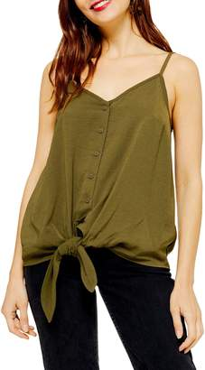 Topshop MATERNITY Polly Tie Front Cami