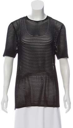 Torn By Ronny Kobo Short Sleeve Sweater