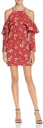 Band of Gypsies Poppy Cold-Shoulder Dress $69 thestylecure.com