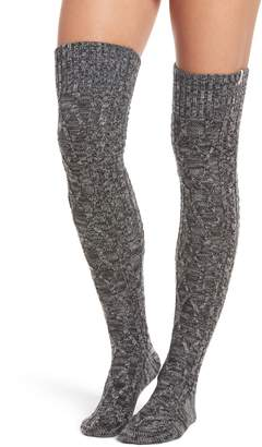 UGG Cable Knit Over the Knee Socks