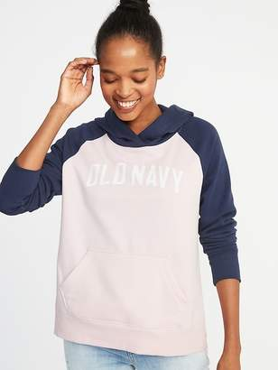 Old Navy Relaxed Logo-Graphic Pullover Hoodie for Women