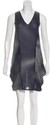 Tess Giberson Printed Silk Dress