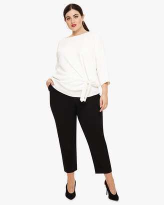Phase Eight Mallory Straight Leg Crop Trousers
