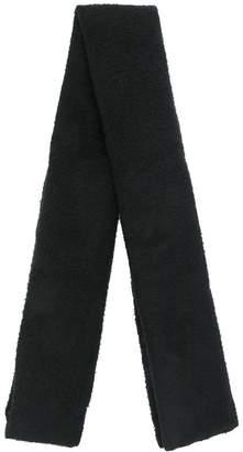 Rick Owens long fine knit scarf