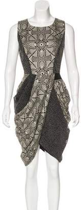 Thakoon Silk Print Midi Dress