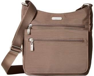 Baggallini Legacy Top Zip Flap Crossbody with RFID Wristlet Cross Body Handbags
