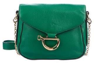 Lauren Ralph Lauren Grained Leather Crossbody Bag