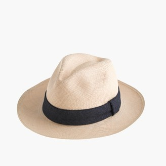 PaulmannTM panama hat with indigo band $65 thestylecure.com