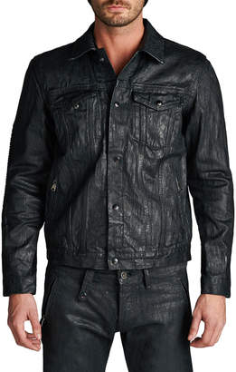 Cult of Individuality Coated Denim Jacket