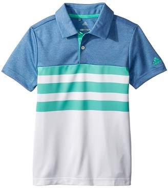 adidas Kids 3-Stripe Fashion Polo Boy's Clothing