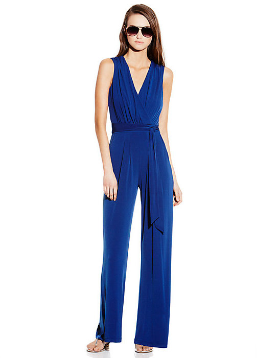 Jersey V-Neck Jumpsuit
