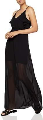 BCBGeneration Tiered Ruffle Maxi Dress