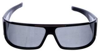 Christian Dior Wraparound Rectangle Sunglasses