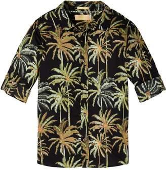 Scotch & Soda Palm Tree Printed Shirt Regular fit