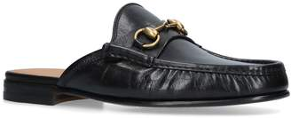 Gucci Horsebit Leather Slippers