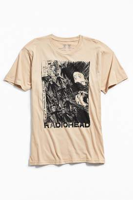 Urban Outfitters Radiohead Scribble Tee