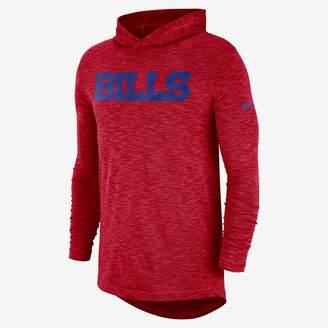 Nike Dri-FIT On-Field (NFL Bills) Men's Hooded Long Sleeve Top