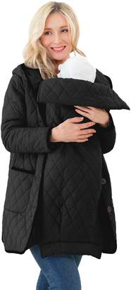 Sweet Mommy Multi Use Quilting Mother Coat with baby pouch BKL