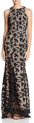 Jarlo Petal Lace Gown - 100% Exclusive