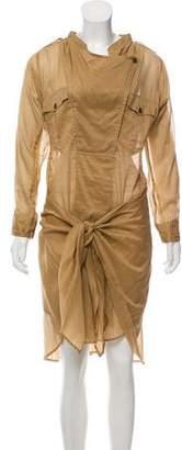 Etoile Isabel Marant Long Sleeve Midi Shirtdress