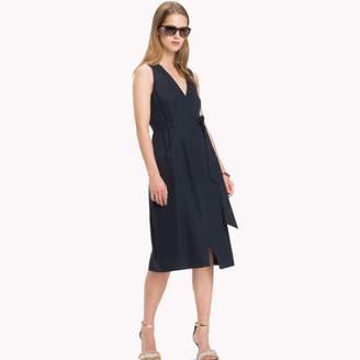 Tommy Hilfiger Wrap Midi Dress